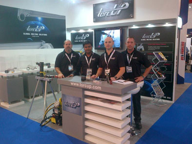 ADIPEC,Abu Dhabi 2012 with TorcUp Team