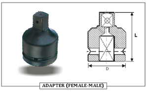 ADAPTER ( FEMALE- MALE)