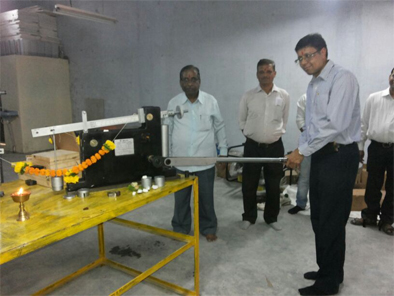 Inauguration of Mechanical Torque Testing Machine