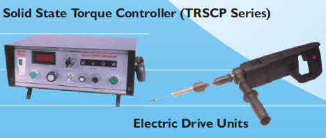 Torque Controlled Electronic Tube Expanding System